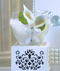 candle favors wedding candle favor interior decoration floral gift baskets