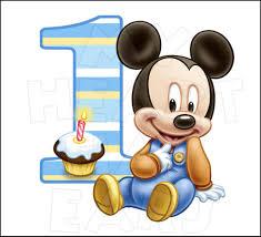baby mickey 1st birthday baby mickey mouse 1st birthday instant digital clip