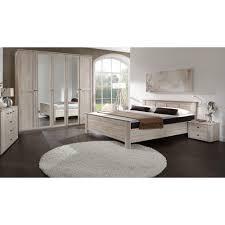 Schlafzimmer Betten G Stig Schlafzimmer Chalet Set 3tlg 160x200 Eiche Sägerau Wimex Möbel