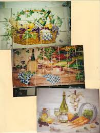 Kitchen Tile Murals Tile Art Backsplashes by Kitchen Tiles With Fruit Design Kitchen Tiles Fruit