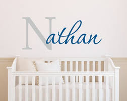 Wall Decor Stickers For Nursery Wall Decals Nursery Etsy