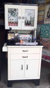 vintage antique medical cabinet dental bar cart man cave ebay