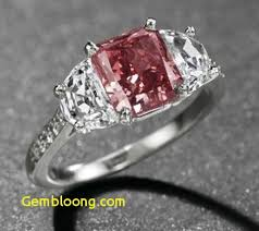 diamond red rings images Natural red diamond engagement ring attractive diamond red rings jpg