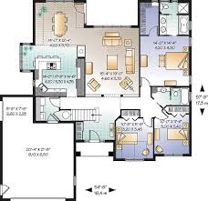 Floor Plans With Furniture First Floor Plan Of Bungalow European Florida Mediterranean House