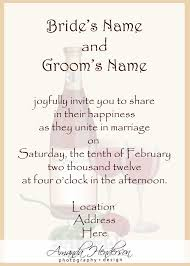 wedding invitations email sle wedding invitation by email wedding invitations view
