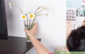 How To Design Flowers In A Vase 3 Ways To Perk Up Wilting Flowers Wikihow
