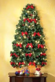 wall christmas tree lighted christmas wall tree from collections etc