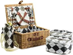 picnic baskets for two homesense two person picnic basket picnic basket