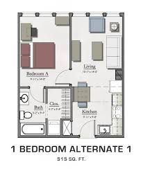 1 bedroom alternate 1 hannah lofts and townhomes