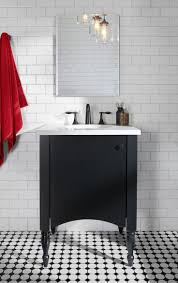 Black And White Bathrooms Ideas by 14 Best Brooklyn Inspired Bathroom Images On Pinterest Bathroom