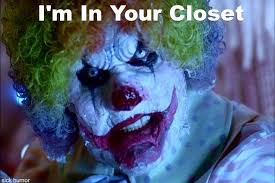 Evil Clown Memes - scary clowns creepy clowns pinterest scary clowns and creepy