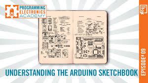 understanding the arduino sketchbook opening and saving arduino