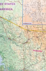 Monterrey Mexico Map by Map Of Sonora U0026 Chihuahua Mexico Itm U2013 Mapscompany