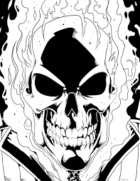 ghost rider coloring pages clip art cyclops coloring page mycoloring free printable