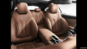 Saddle Interior 2015 Mercedes Benz S65 Amg Coupe Designo Saddle Brown Black