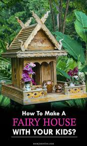 Fairy Garden Ideas For Kids by The 25 Best How To Make A Fairy House Kids Ideas On Pinterest