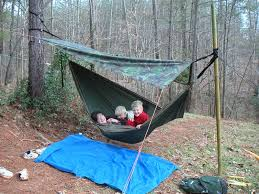 hanging with only one secure point hammocks