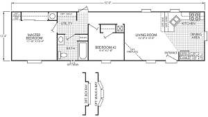 Floor Plans For Mobile Homes Single Wide Whatisamanufacturedhome Single Wide Mobile Home Floor Plans For