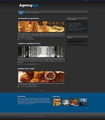drupal themes latest agency dark drupal org
