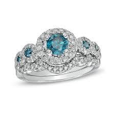 wedding sets on sale sapphire and diamond matching wedding ring set 2 carat