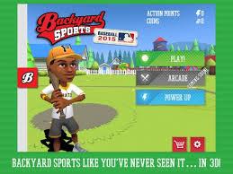 Download Backyard Baseball Backyard Sports Baseball 2015 Apk Download Free Sports Game For
