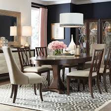 black dining room table for sale presidio oval dining table by bassett furniture includes two 21