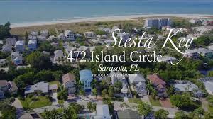 siesta key beach rentals vacations palm island youtube