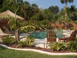 Pool Ideas For Small Backyard by Best 25 Backyard Pool Landscaping Ideas Only On Pinterest Pool