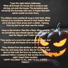 Scary Halloween Poems Twas The Night Before Halloween By Taylorfenner On Deviantart