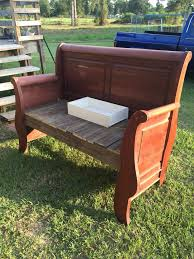 Bench Made From Bed Headboard Epic Benches Made Out Of Headboards 71 About Remodel Round