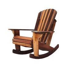 Rocking Chair Handcrafted Adirondack Cedar Rocker Chairs Adirondack Cedar