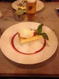 ego cuisine lemon tart at ego picture of ego mediterranean pub restaurant