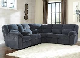 Sectional Sofas With Recliner by Benchcraft Timpson Reclining Sectional With Storage Console