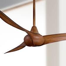 koa wood ceiling fan 52 minka aire wave distressed koa ceiling fan 2n535 ls plus