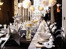 New Year S Eve Dinner Decoration by 35 Black And White New Year U0027s Eve Party Table Decorations
