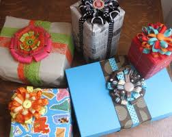 Wholesale Christmas Gift Wrap - flower loop bows u0026 creative gift wrap all wrapped up pinterest