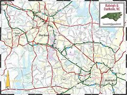 Map Of Carolinas Map Of Raleigh North Carolina Travelsmaps Com