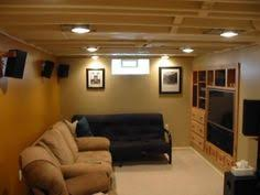 Black Ceiling Basement by Diy Finished Basement Notice How Painting Ceiling Beams And