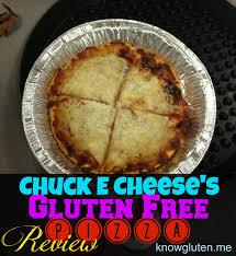chuck e cheese u0027s gluten free pizza review know gluten