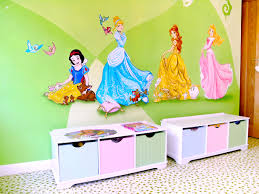 disney princesses in castle bedroom disney princess murals