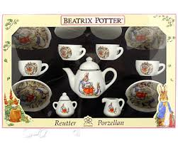 beatrix potter tea set beatrix potter boxed teaset reutter porcelain teddy friends