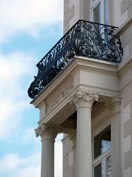 balkon gitter balkongitter schmiedeeisen für eine stabile und kunstvolle