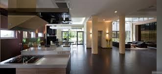 Modern Open Kitchen Living Room Designs Modern Gas Kitchen Fish Tank Open Plan Pillars Interior House