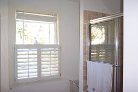 cafe style shutters traditional bathroom boston by