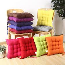 Square Bistro Chair Cushions Thick Square Bistro Chair Cushion Seat Pads Kitchen Dining