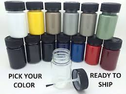 pick your color touch up paint kit w brush for mercedes benz car