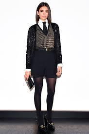 Vanity Row Clothing Rihanna Rode Into Her Fashion Show On A Motocross Bike Vanity Fair