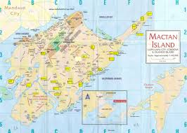 Cordova Alaska Map by Printed Map Of Mactan Island Cebu Metro Maps Pinterest Print