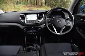 hyundai tucson 2015 interior hyundai tucson elite 1 6t review video performancedrive