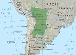 Latin America Physical Map Quiz by Land Rights Beef Commodity Chains And Deforestation Dynamics In